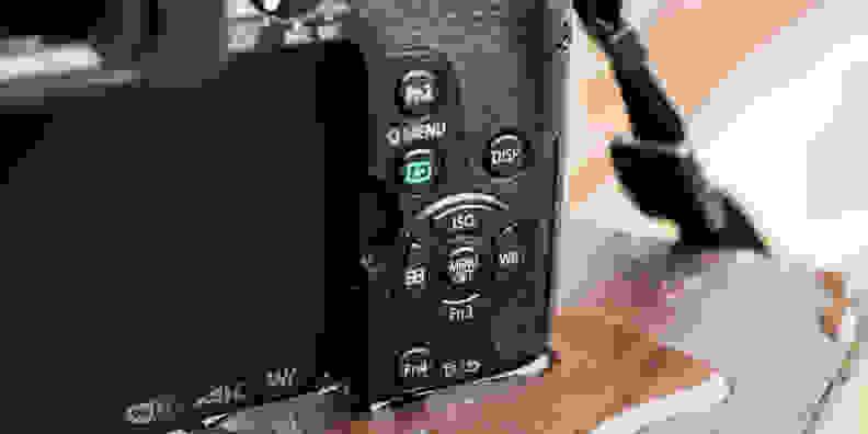 Panasonic Lumix G85 Rear Controls