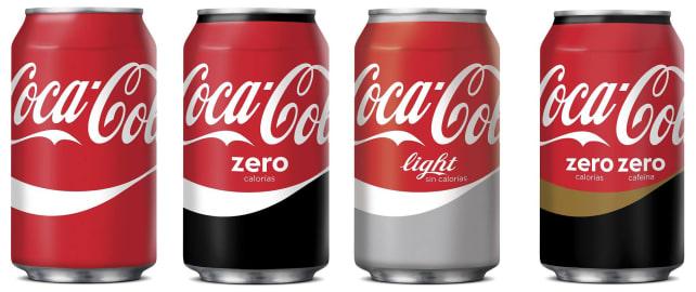 Spain's Split Coke Can Design