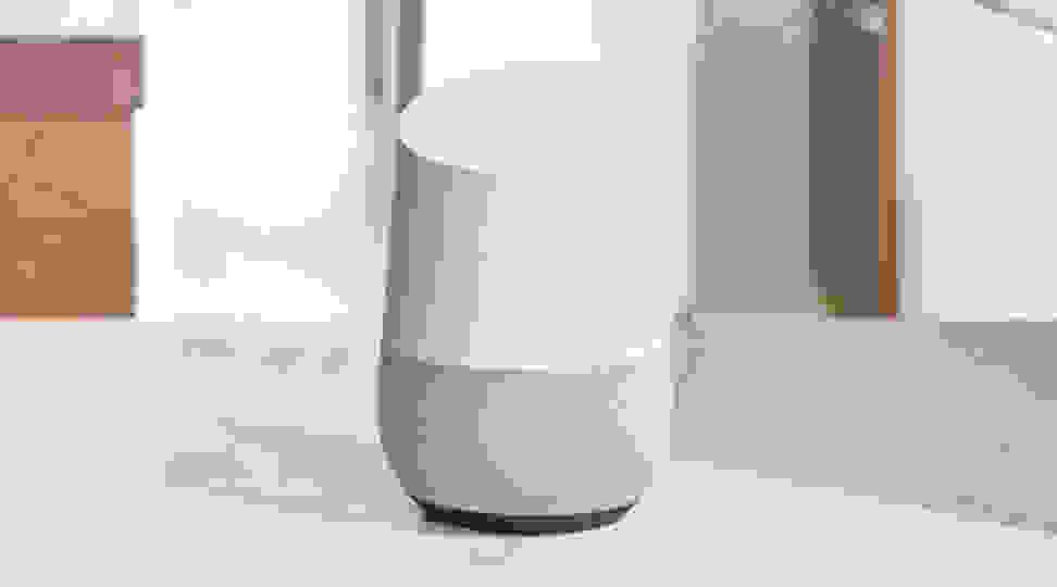 Google Home smart speaker on table