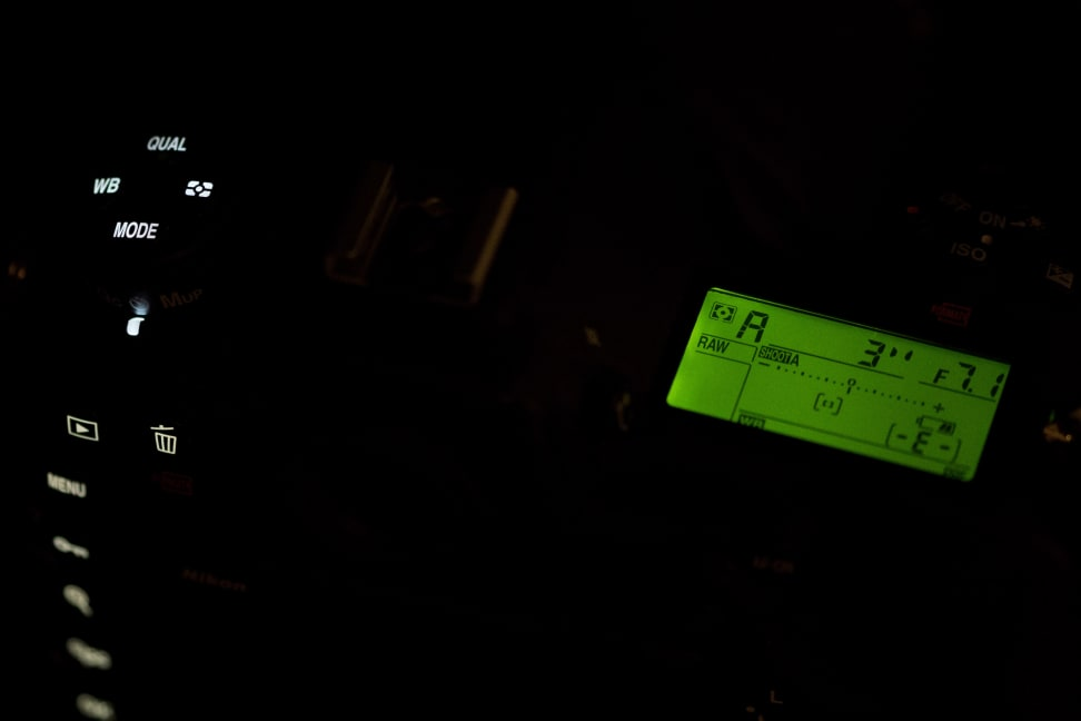 Nikon D500 Lights Off