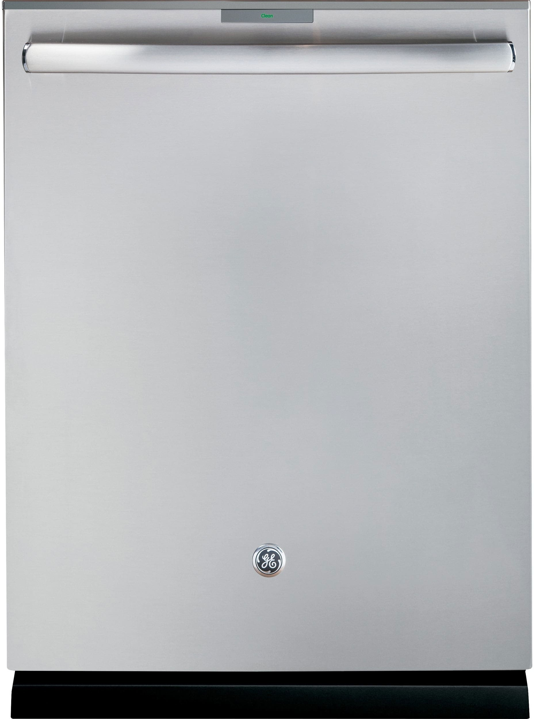 The GE Profile PDT855SSJSS is the conventional stainless steel version of this dishwasher.