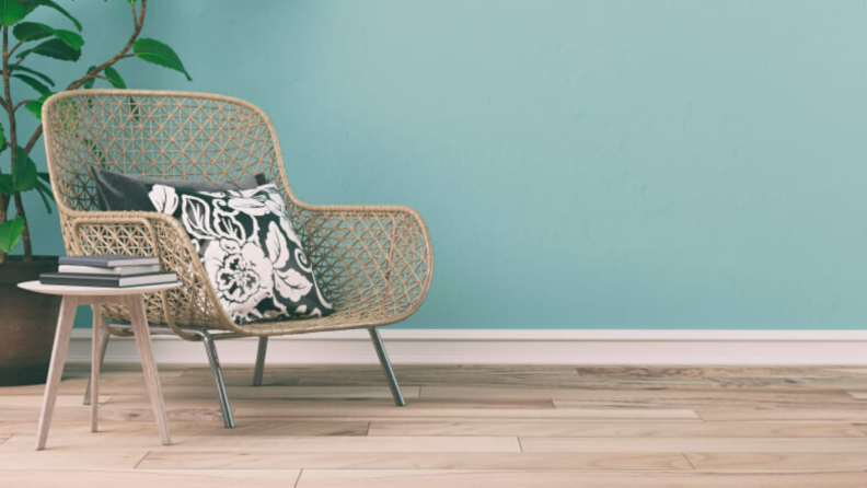 Wicker and rattan furniture is a hot design trend for 2020