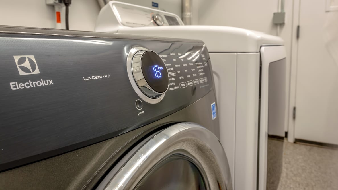 The Electrolux dryer in our laundry lab