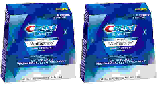 Crest 3D Whitestrips Professional Teeth Whitening Kit