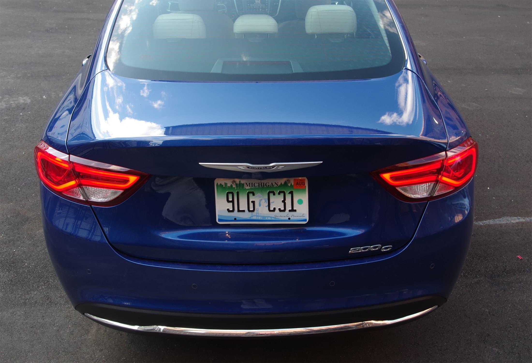 rear view Chrysler 200