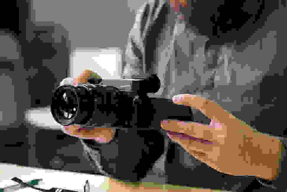 Panasonic GX8 Flip Screen