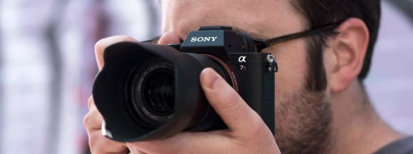 Sony a7r ii hero