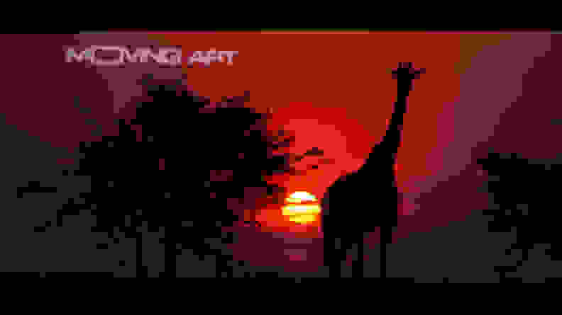 moving-art-sunset