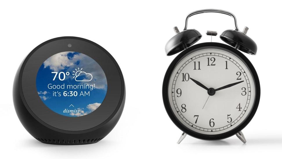Echo Spot Alarm Clock