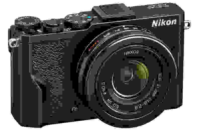 A manufacturer render of the Nikon DL24-85.