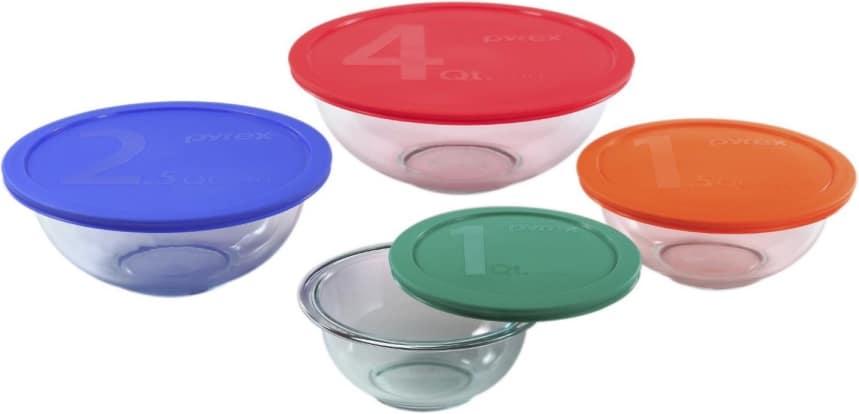 Product Image - Pyrex 1123266 8-Piece Smart Essentials Bowl Set