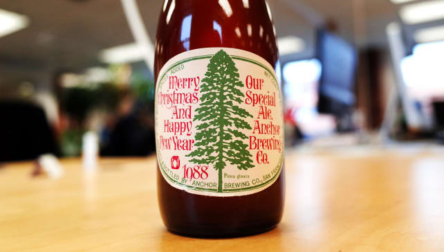 Anchor Brewing's Christmas Ale – 1988