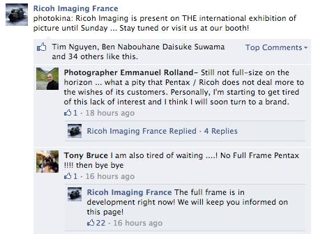 Ricoh Confirms Development of Full-Frame Pentax DSLR - Reviewed.com ...