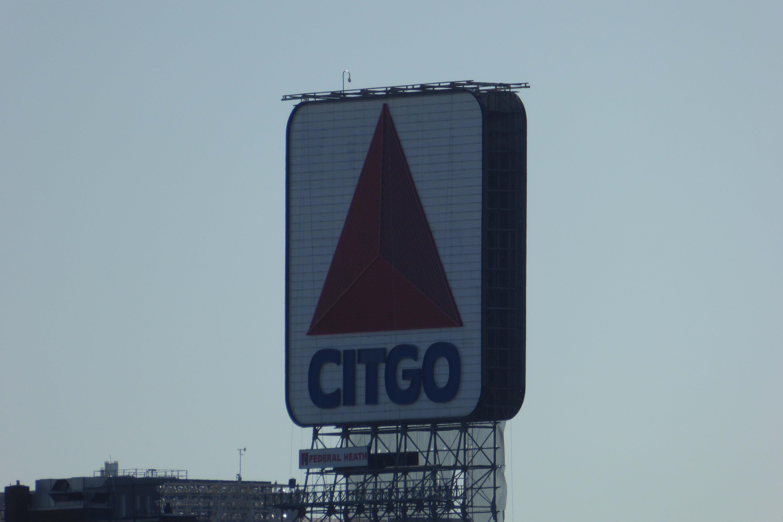 A sample photo of a billboard taken by the Panasonic Lumix DSC-ZS40.