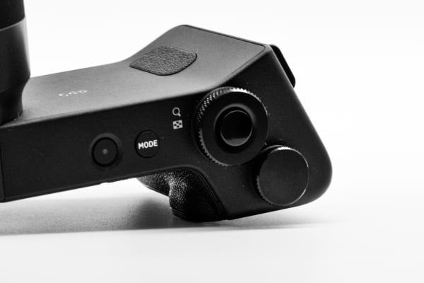 The dp0 Quattro's unique grip provides excellent handling, even with the longer 14mm lens.
