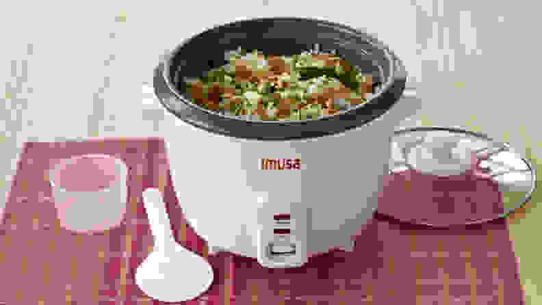 Imusa USA Electric Nonstick Rice Cooker