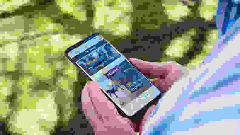 Samsung Galaxy S9+ Display
