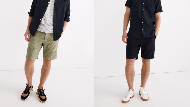 Madewell work shorts