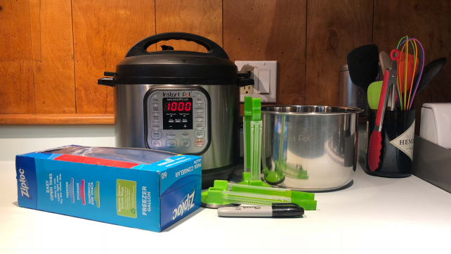 Instant Pot freezer meal prep