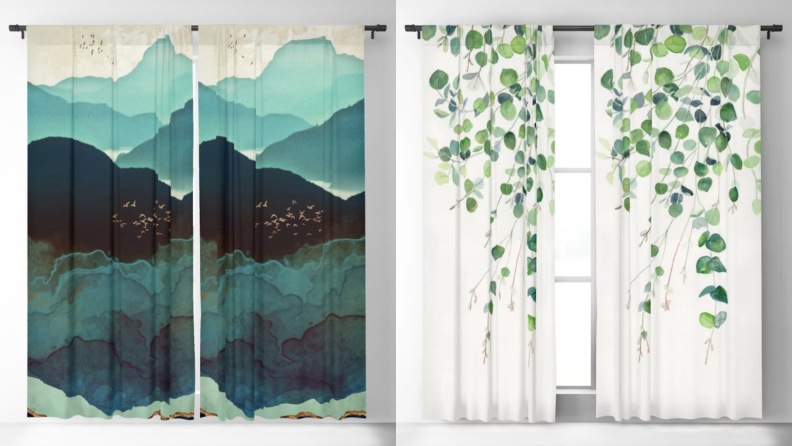 Society6 curtains