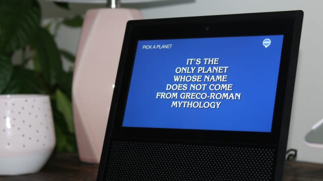 Jeopardy Amazon Echo Show