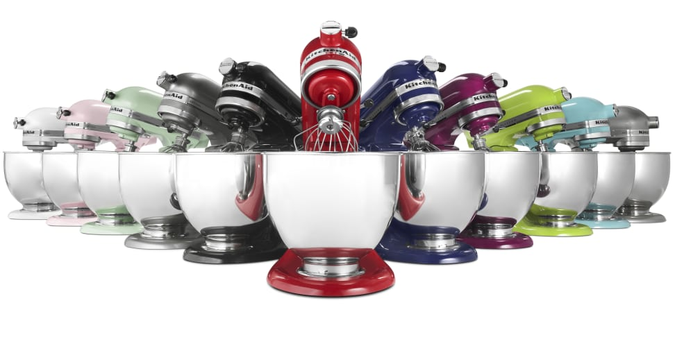 All the different types of KitchenAid stand mixers - and which one is right for you