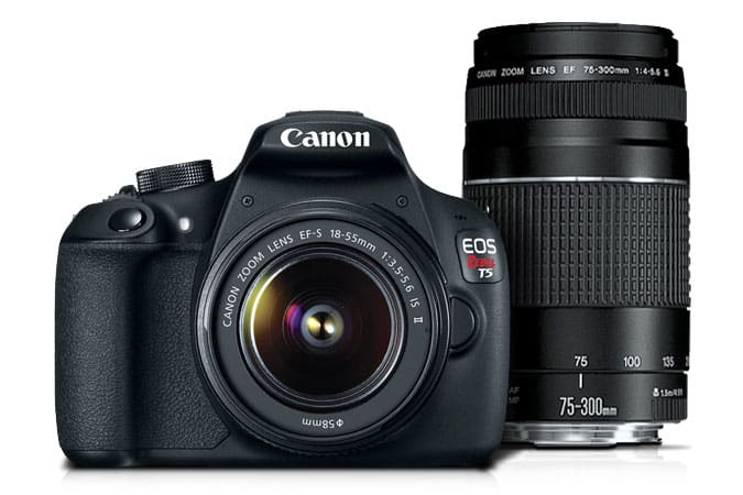 Canon T5 twin lens kit
