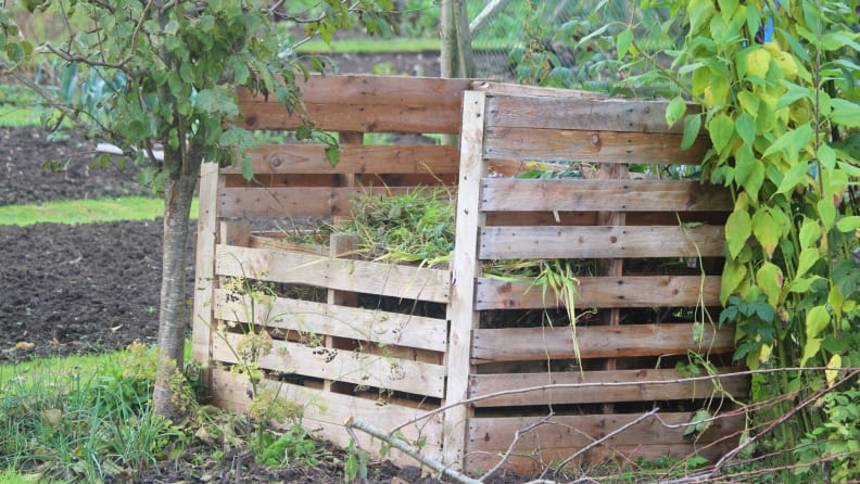 new pallet composter