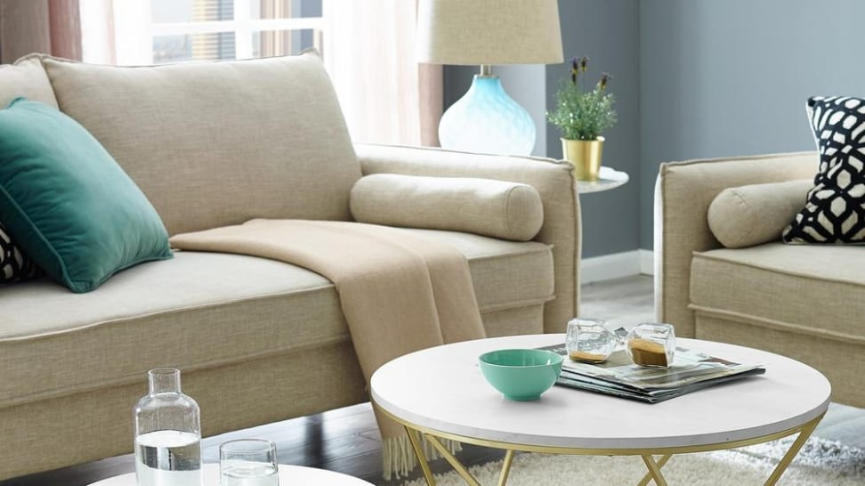 Give your living room a mini makeover—without breaking the bank.