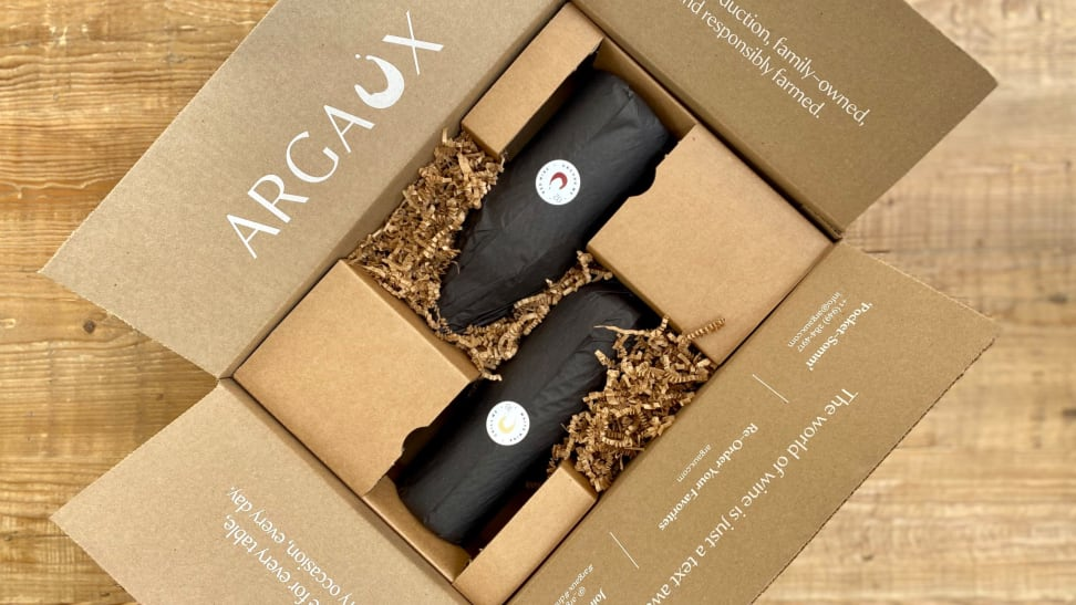 Argaux delivers a blind wine tasting experience right to your door.