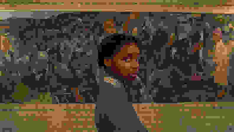 Thuso Mbedu in The Underground Railroad