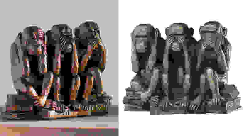 Wise Monkey Figurine