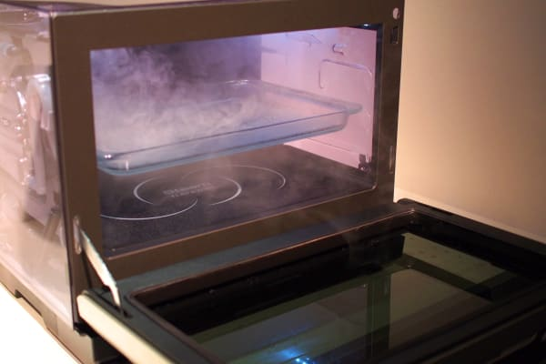 Panasonic's My Chef microwave has seven methods for preparing meals.