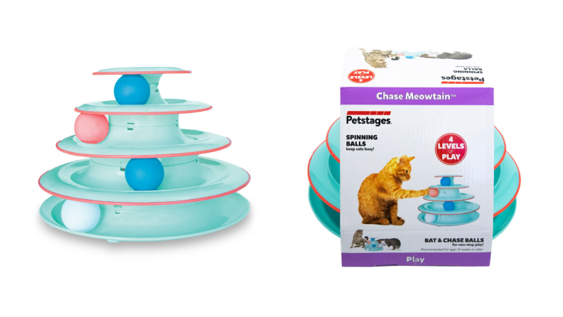 Petstages Chase Meowtain Track Cat Toy