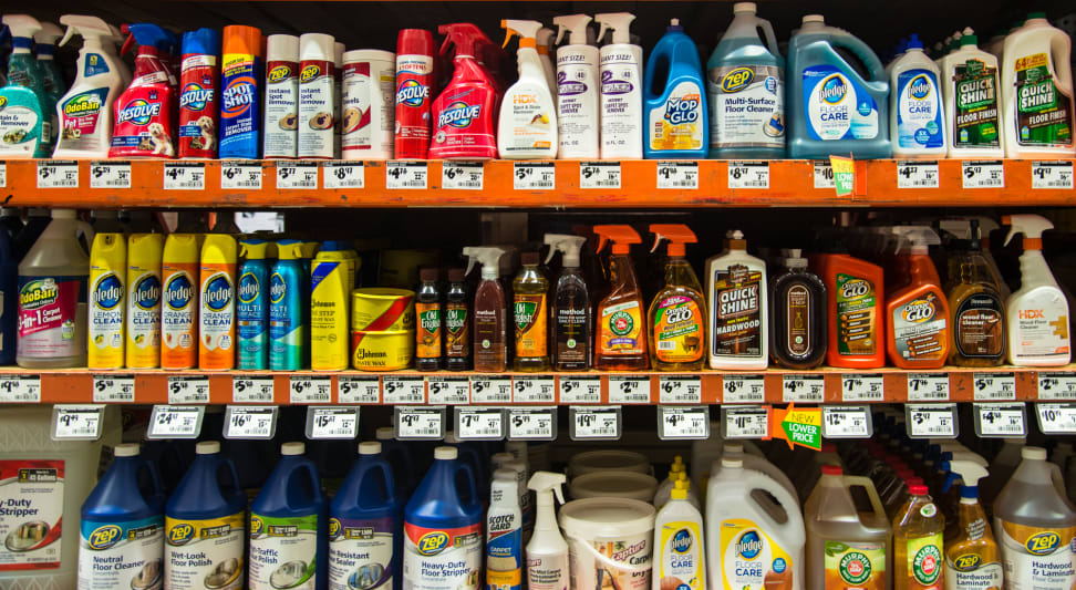 hardwood floor cleaning products