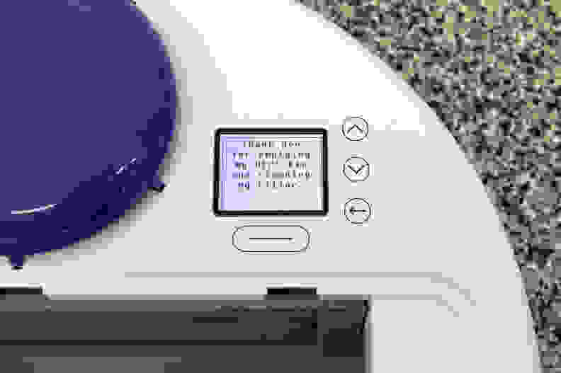 Neato Botvac 80 – LCD Display