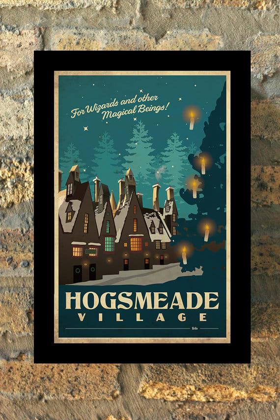 Hogsmead Art Print