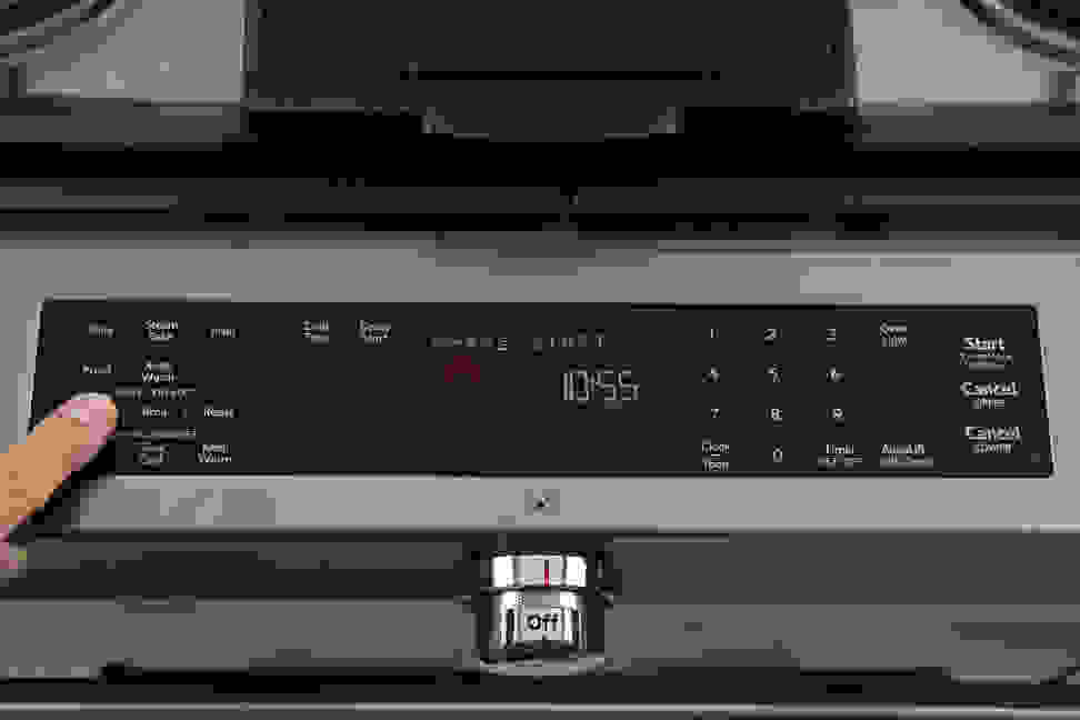KitchenAid KSDB900ESS oven controls