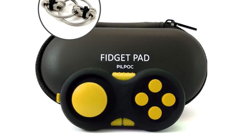 Controller fidget pad