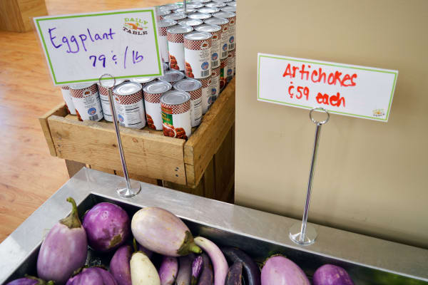 At 79 cents a pound, I'll take all the pockmarked eggplant I can carry.