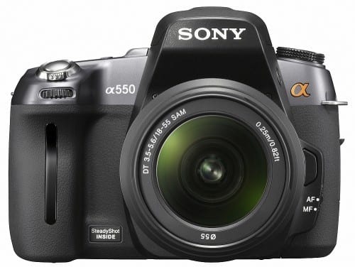 Product Image - Sony Alpha A550