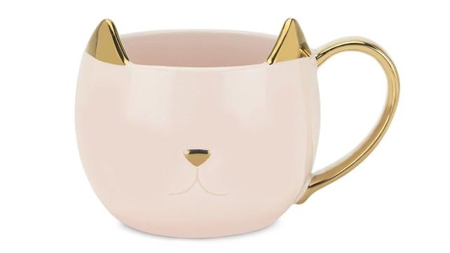 Pinky Up Cat Mug