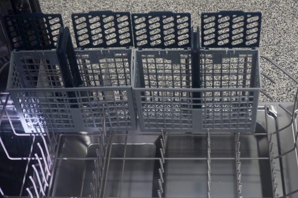 cutlery basket in dishwasher