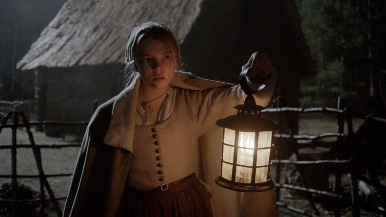 Anya Taylor-Joy made her film debut in 2015's 'The Witch.'