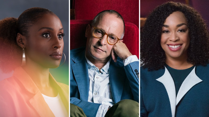 Masterclass portraits from Issa Rae, David Sedaris, and Shonda Rhimes.