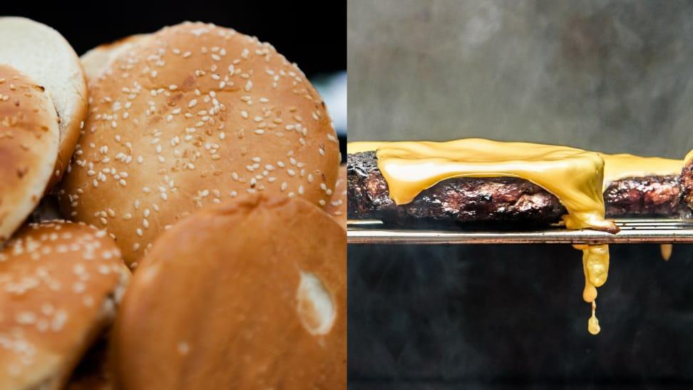 Buns and burgers