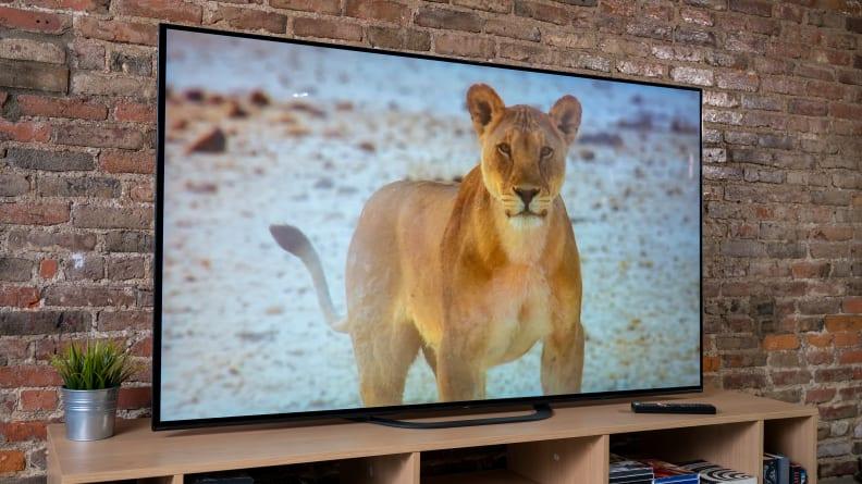 Sony A8G OLED Peak Brightness