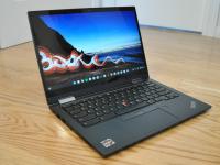 The Lenovo ThinkPad C13 Yoga Chromebook.