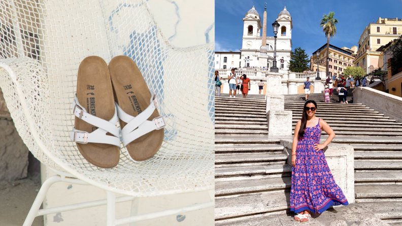 Birkenstock Yao Slide Sandals take Italy