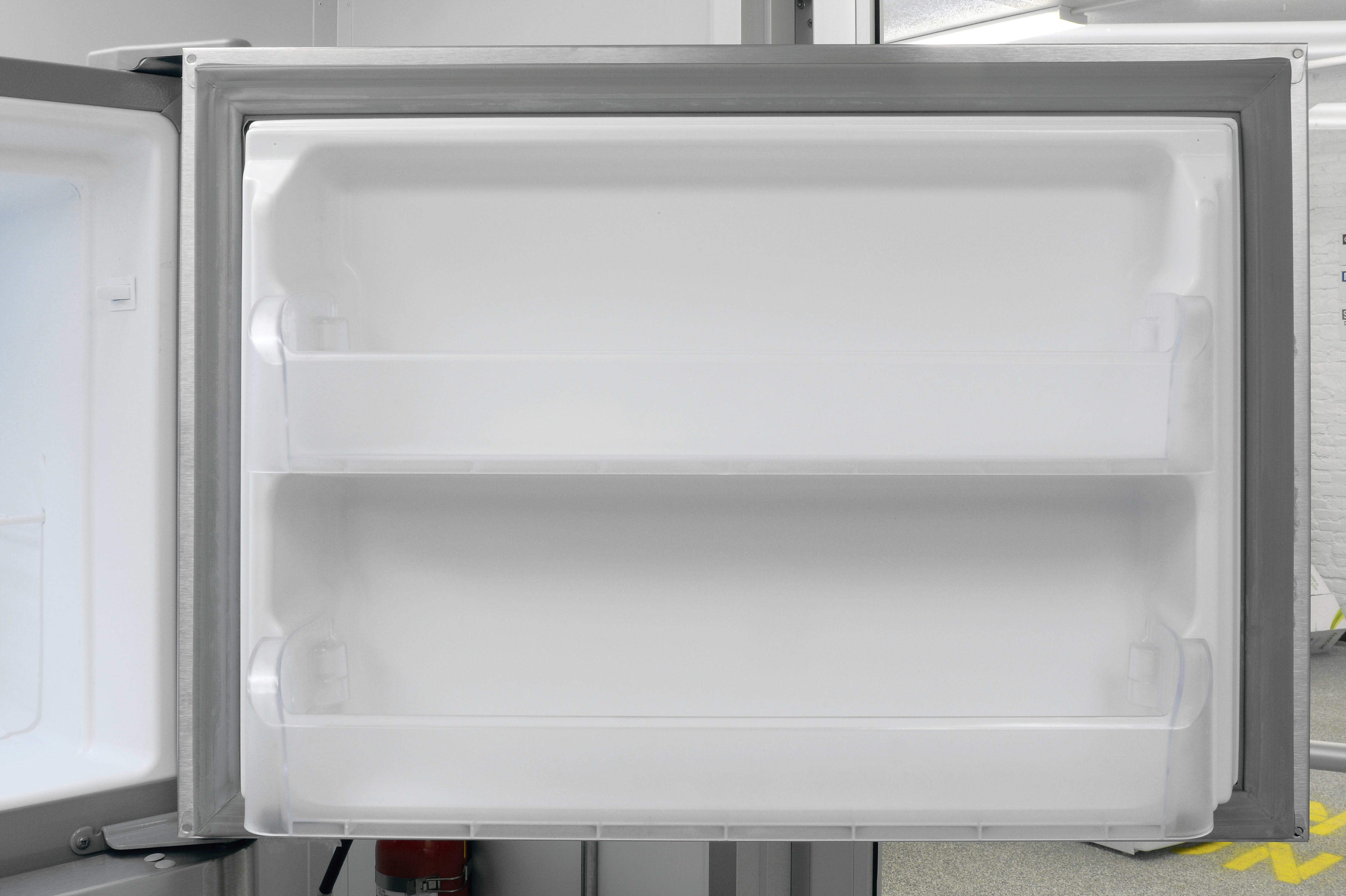 The Kenmore 70623's two matching door shelves offer extra freezer space.